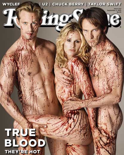 true blood rolling stones cover picture. Rolling-Stone-Cover-True-Blood